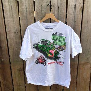 Vintage Superbike Racing Men's Shirt